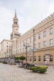 opole Poland Urzędu Miasta budynek Zdjęcia Royalty Free