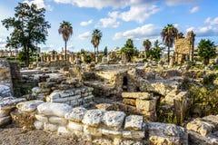 Opona hipodrom 19 i Necropolis zdjęcie stock