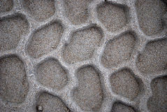 Opona wzór na piasku Fotografia Royalty Free