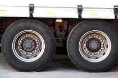 opony ciężarówka Zdjęcia Stock