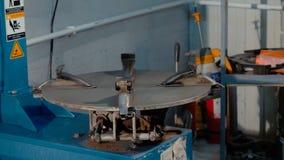 Opony Trafna maszyna zdjęcia stock