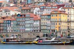 Oporto è una città costiera nel Portogallo di nord-ovest fotografia stock libera da diritti