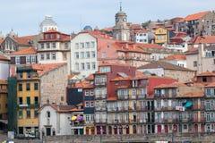 Oporto è una città costiera nel Portogallo di nord-ovest fotografie stock libere da diritti