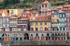 Oporto è una città costiera nel Portogallo di nord-ovest immagini stock libere da diritti