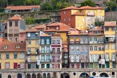 Oporto è una città costiera nel Portogallo di nord-ovest immagini stock