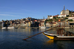 Oporto. City, Portugal Royalty Free Stock Images