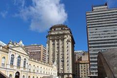 Oporto Alegre Downtown, Brasile Fotografia Stock