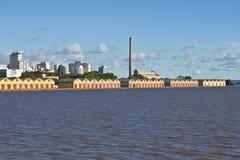 Oporto Alegre Port - Rio Grande do Sul - il Brasile Fotografia Stock