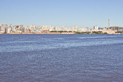 Oporto Alegre Port - Rio Grande do Sul - il Brasile Fotografie Stock
