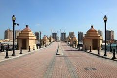 Oporto Arabia. Doha, Qatar Fotografia Stock Libera da Diritti