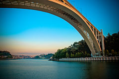Oporto bridge Royalty Free Stock Photo