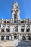 Oporto Camara Municipal Imagenes de archivo