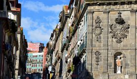 Oporto City of Portugal. Magic of Oporto City, old structure, vintage Royalty Free Stock Photo