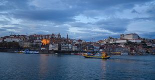 Oporto City of Portugal. Magic of Oporto City, old structure, vintage Stock Image
