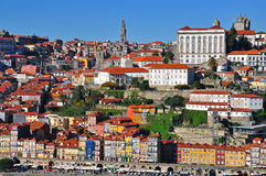 Oporto cityscape Royalty Free Stock Images