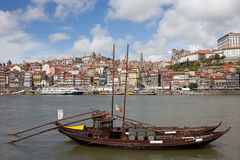 Oporto Cityscape in Portugal Royalty Free Stock Images