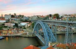 Oporto cityscape Stock Image