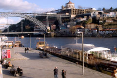 Oporto classic river view. Stock Images