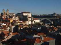 Oporto classic view Royalty Free Stock Images