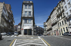 Oporto crossroad Royalty Free Stock Images