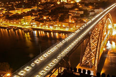 Oporto D. Luiz I Bridge Royalty Free Stock Photo