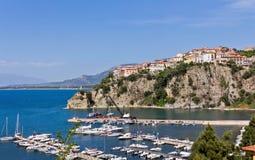 Oporto di Agropoli un Salerno fotografia stock