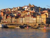 Oporto e o Rio il Duero Fotografie Stock Libere da Diritti