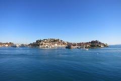Oporto Ferraio en Elba Island, Italia imágenes de archivo libres de regalías