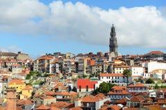 Oporto gammal stad, Portugal Arkivbild