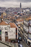 Oporto general view. Oporto, December 2012. Downtown general view, UNESCO World Heritage Site Royalty Free Stock Image