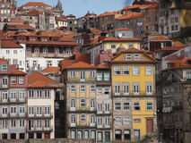 Oporto historic center view Royalty Free Stock Images
