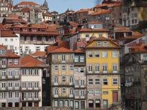 Oporto historisk mittsikt Royaltyfria Bilder