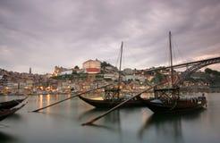 Oporto - il Portogallo Immagini Stock Libere da Diritti