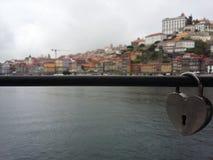 Oporto lås Arkivfoton