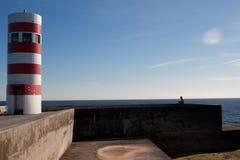 Oporto latarnia morska Zdjęcie Royalty Free
