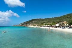 Oporto Mari Beach - tonalità della spiaggia Immagini Stock