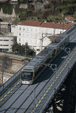 Oporto metro Stock Image