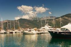 Oporto Montenegro montenegro Foto de archivo libre de regalías