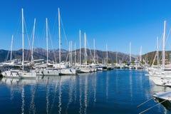 Oporto Montenegro. Teodo, Montenegro Fotografie Stock Libere da Diritti