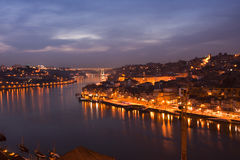 Oporto by night Stock Photo