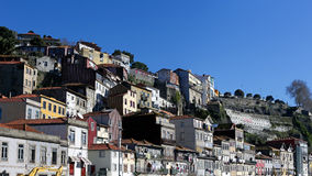 Oporto old houses Royalty Free Stock Photography