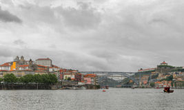 Oporto panorama, Portugal Royalty Free Stock Photos
