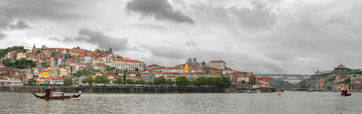 Oporto panorama, Portugal Stock Images