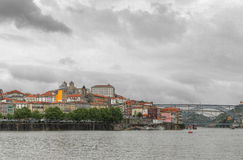 Oporto panorama, Portugal Royalty Free Stock Photo