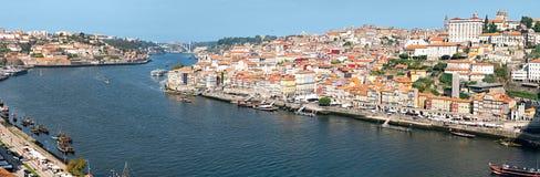 Oporto Portogallo Ampia vista panoramica nell'alta risoluzione fotografia stock