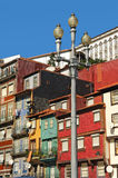 Oporto, Portugal. Colorful traditional houses in the city of Oporto, Portugal Stock Photo
