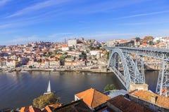 oporto portugal Arkivbild