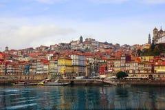 Oporto, Portugal del río de Duoro Foto de archivo libre de regalías