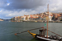 Oporto Ribeira Royalty Free Stock Photos