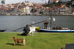 Oporto Ribeira Royalty Free Stock Images
